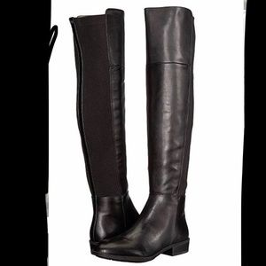 024df6fb5976 Manmade over the knee black boots